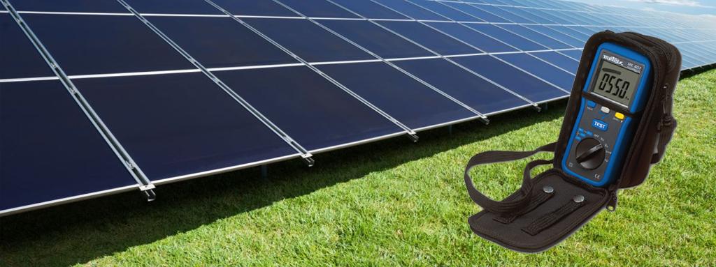 isolamento pannelli fotovoltaici test