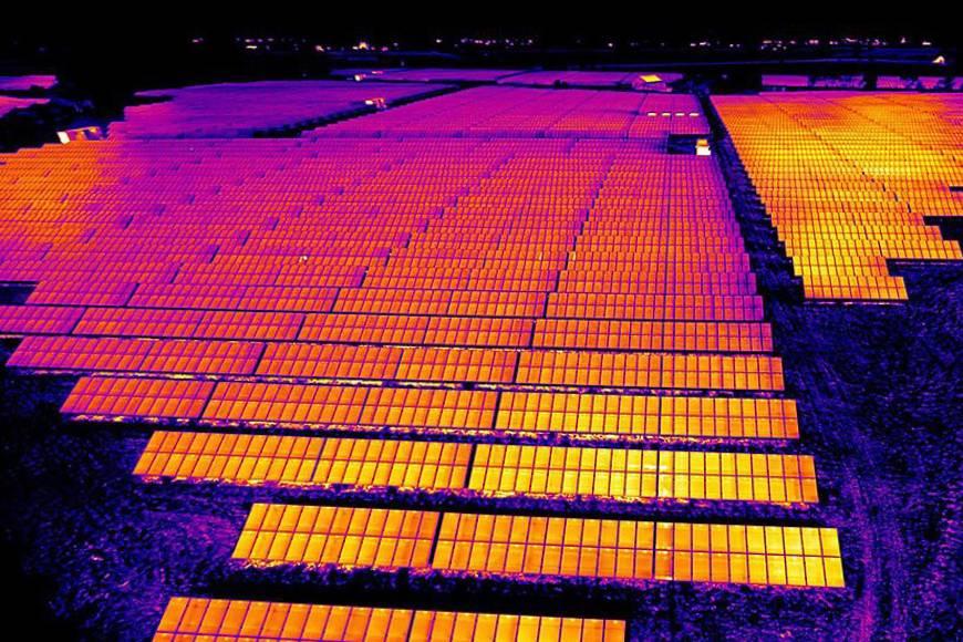 termografia impianti fotovoltaici lecce
